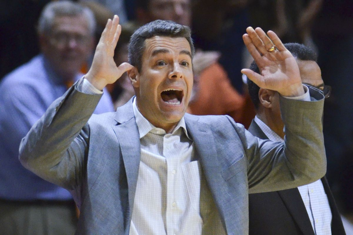 """""""IT'S PACK LINE PLEDGE TIME, YOU GUYS!!"""" --Coach Tony Bennett (probably)"""