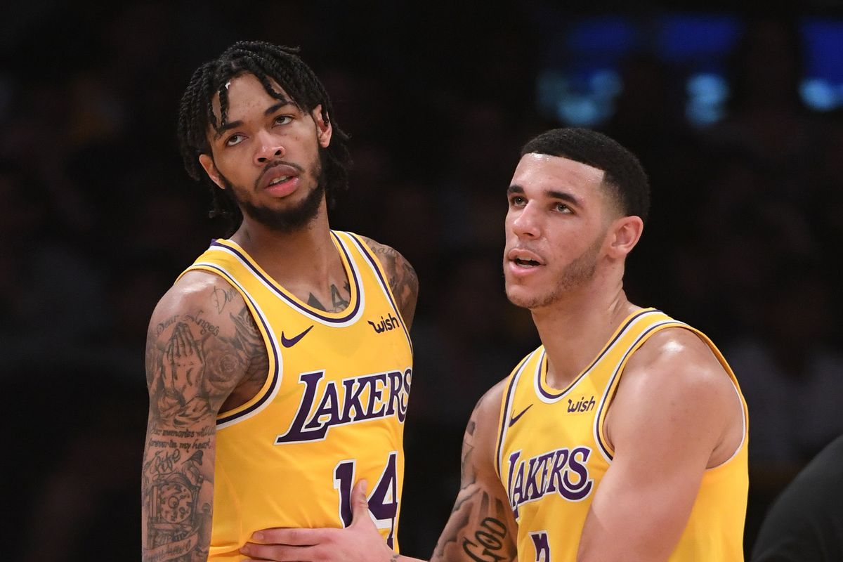b9a679d0e LeBron James says the Lakers are at their best when Lonzo Ball and Brandon  Ingram are aggressive
