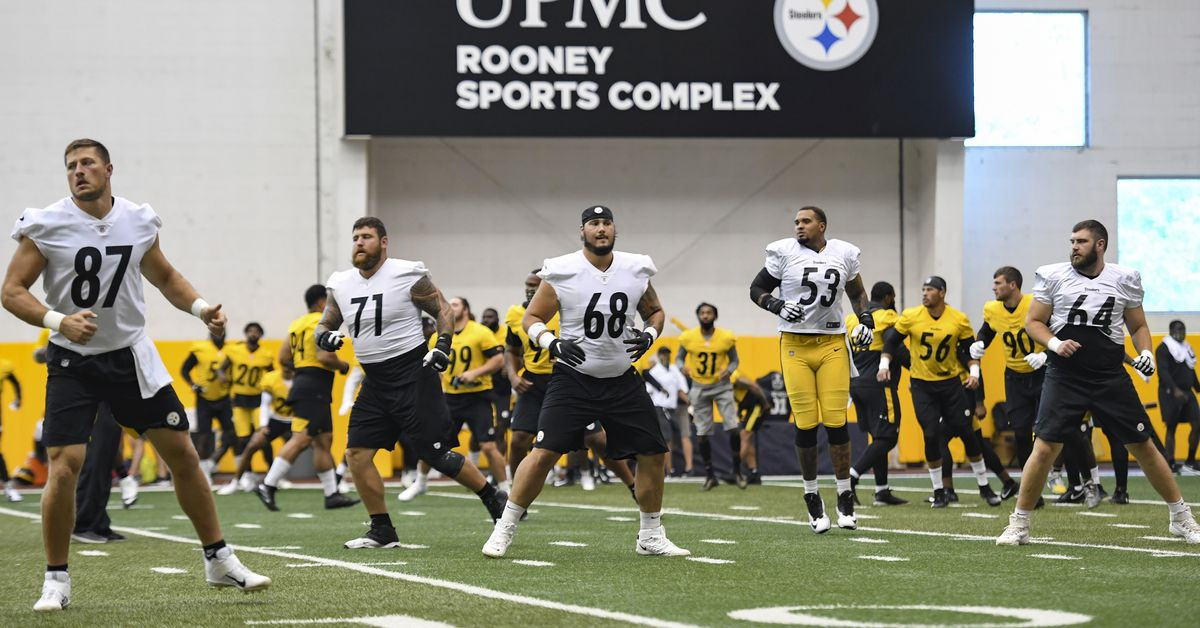 Despite the Steelers opting-out of voluntary OTAs, several players showed up to workout