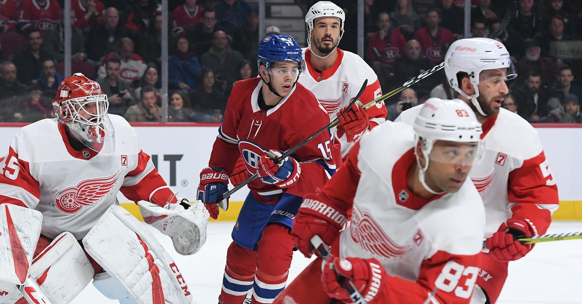 Canadiens vs. Red Wings: Game thread, rosters, lines, and how to watch - Habs Eyes on the Prize