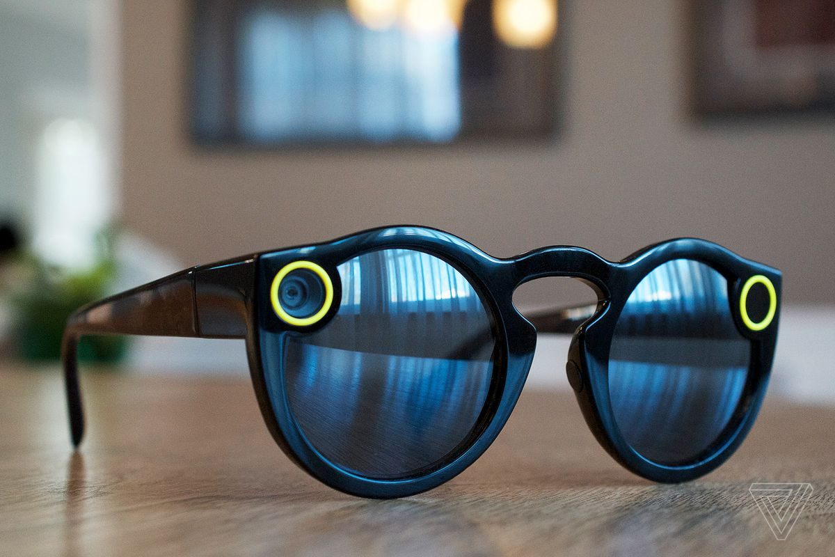 Snapchat Spectacles hands-on images