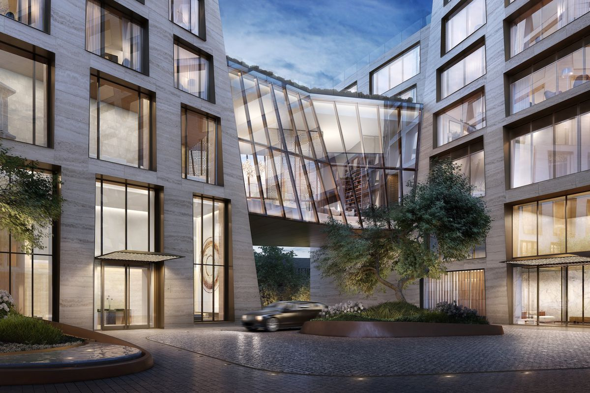Home Spa Design Ideas: Bjarke Ingels's High Line Condo Shows Off Double-height
