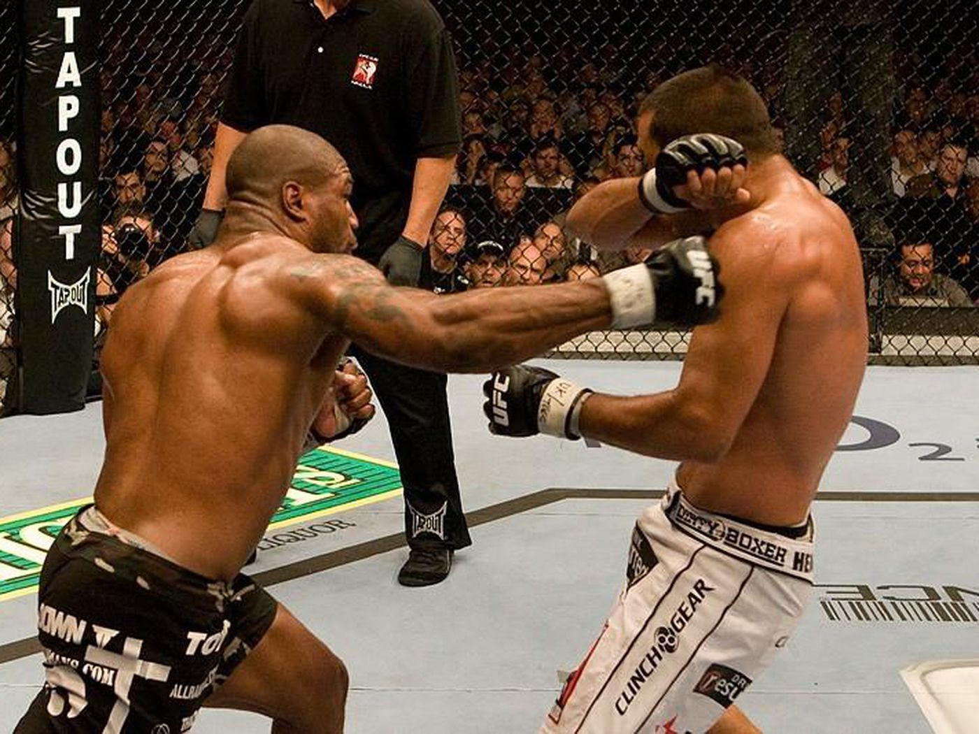 History In The Making Quinton Rampage Jackson Unifies The Ufc