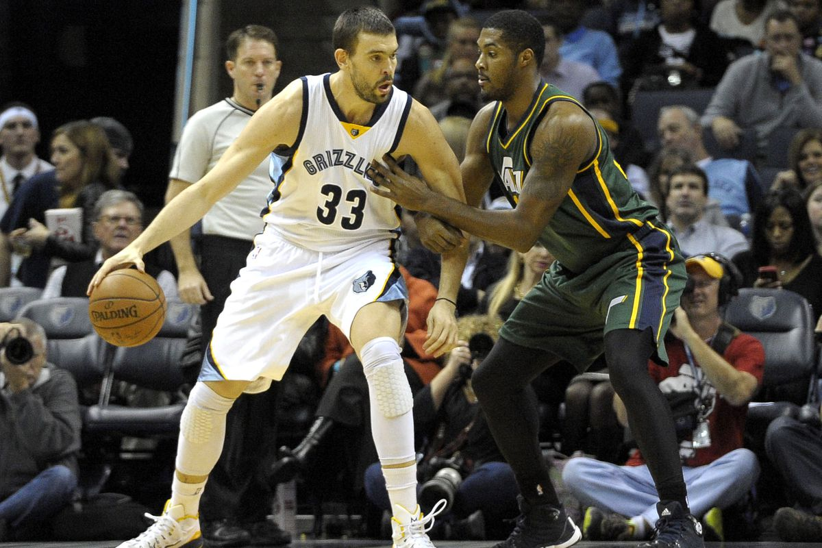 Gasol vs. Favors will be fun to watch in Utah this evening.