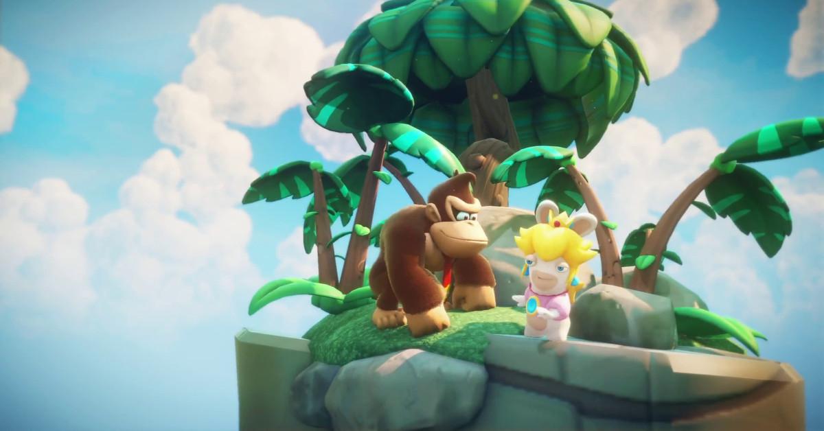 Donkey Kong coming to Mario + Rabbids Kingdom Battle