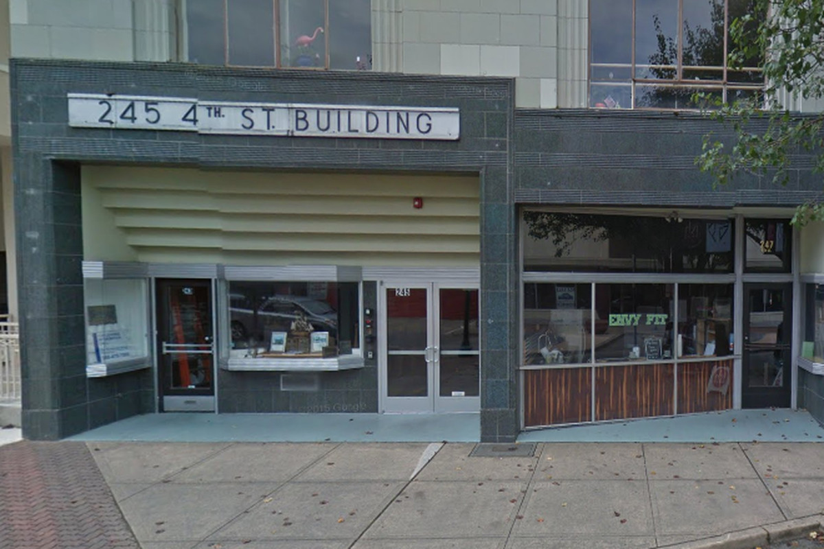 The home of Saboteur's new retail shop.