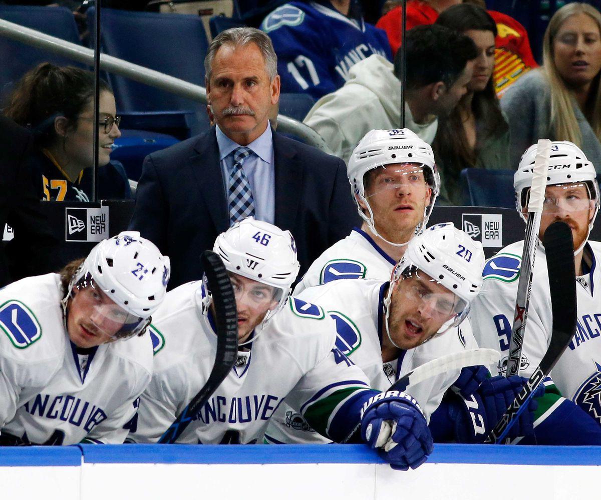 NHL: Vancouver Canucks at Buffalo Sabres