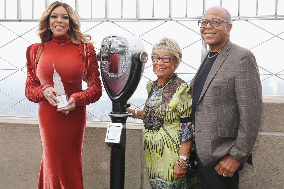 Wendy Williams and her mother and father