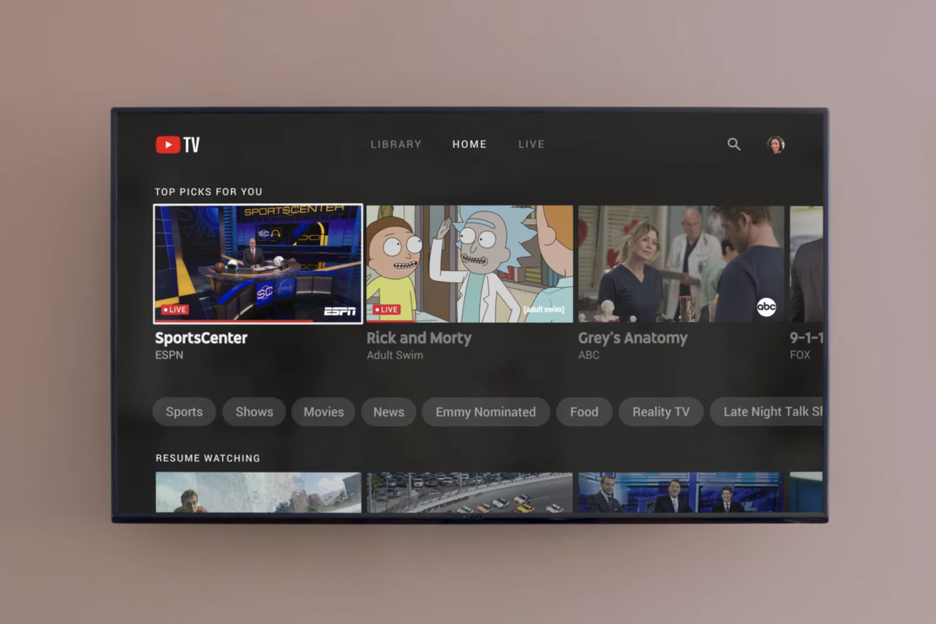YouTube TV is adding offline downloads and 4K streaming