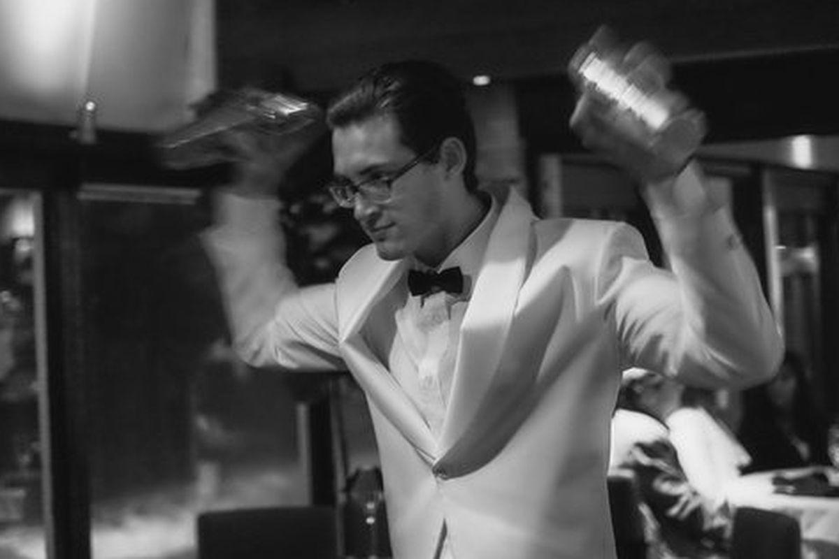 Bartender at Mastro's, Beverly Hills.