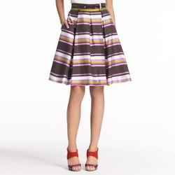 "<a href=""http://www.katespade.com/striped-silk-lillith-skirt/NJMU1862,default,pd.html?dwvar_NJMU1862_color=217&start=103&cgid=sale"">Striped Silk Lillith Skirt</a>, $138 (was $368)"