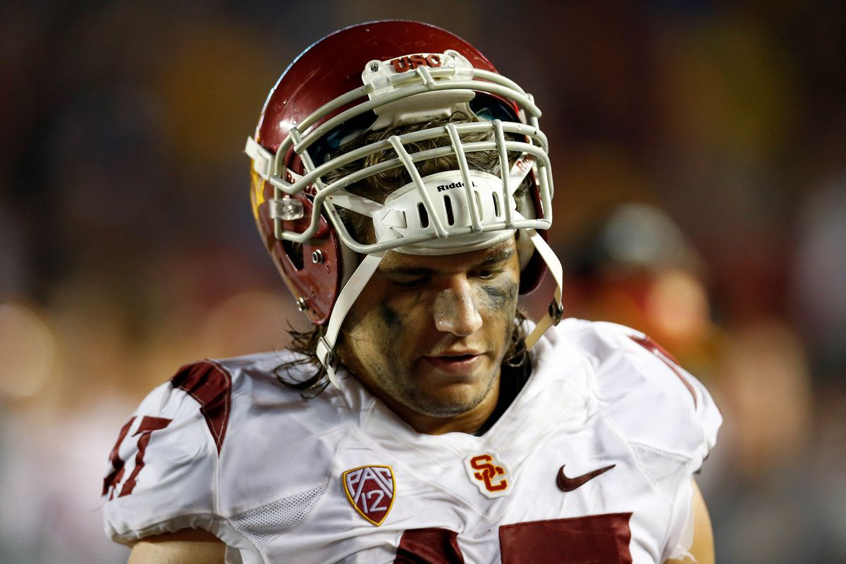 The look says it all, USC was outmuscled in the trenches.