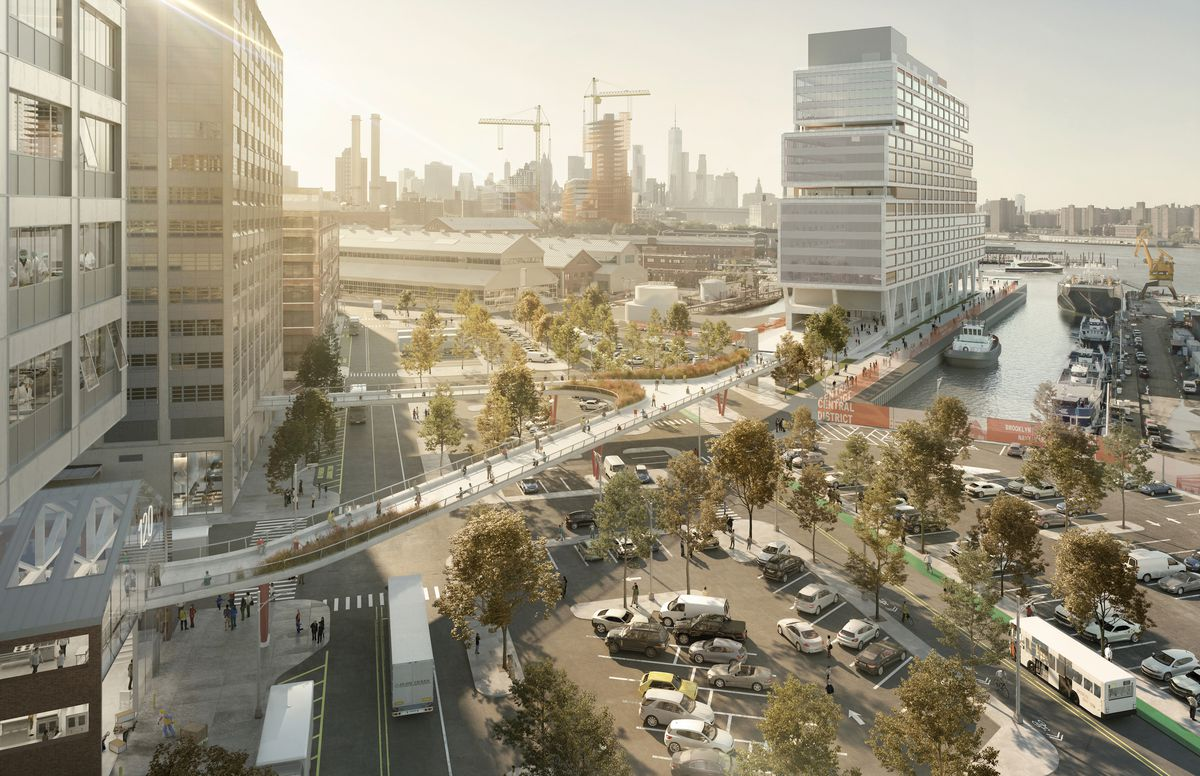 Brooklyn Navy Yard's new master plan includes 'vertical