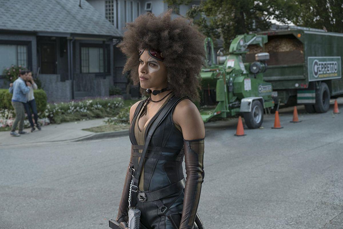 Zazie Beetz S Armpit Hair In Deadpool 2 Is Chill As Hell Racked