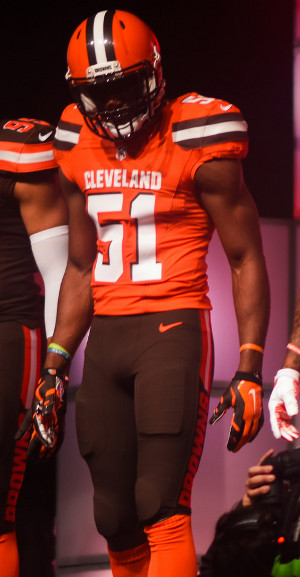 cleveland browns orange jersey