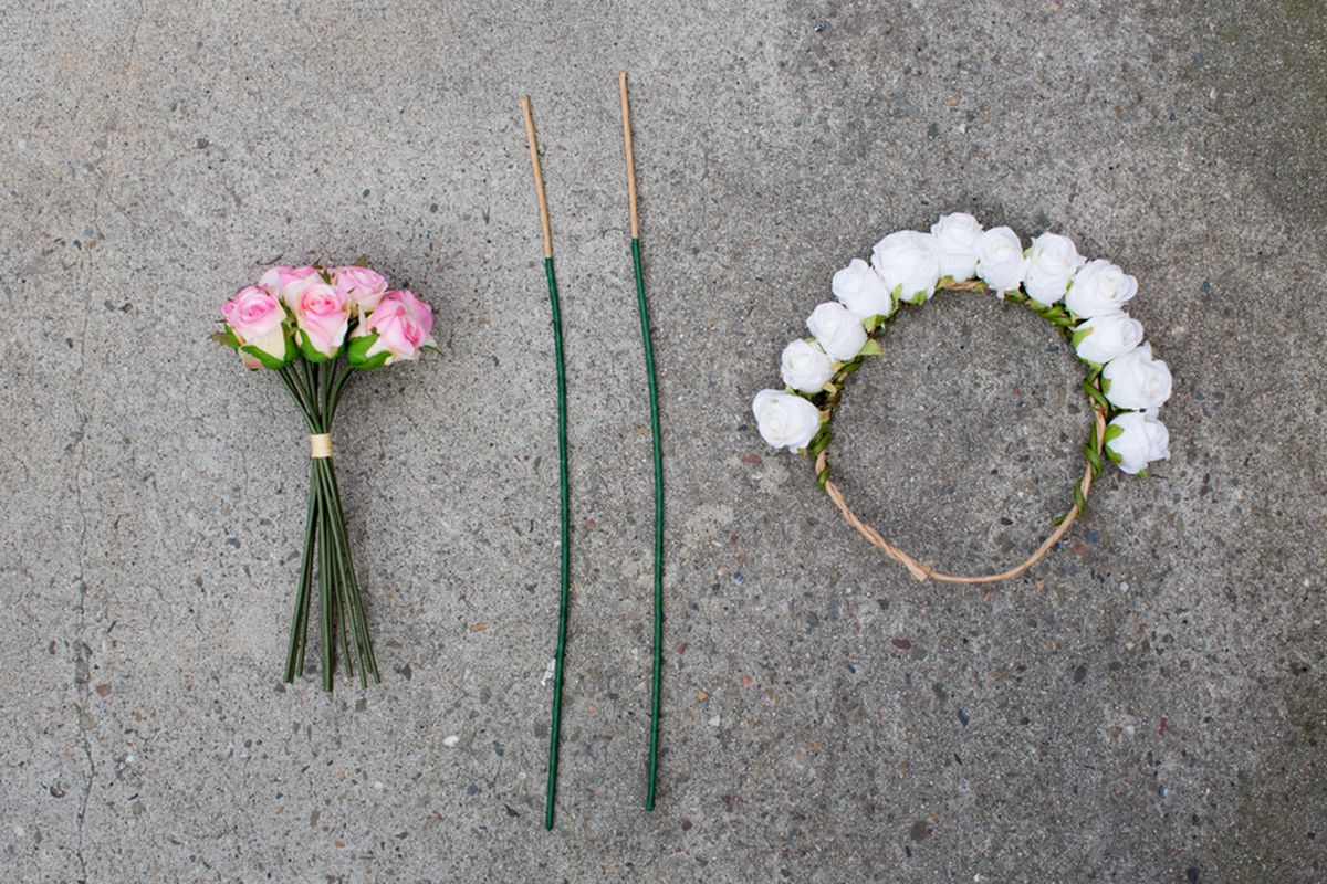 A flower crown diy for the boho bride on a budget racked sf photos by aubrie pick izmirmasajfo