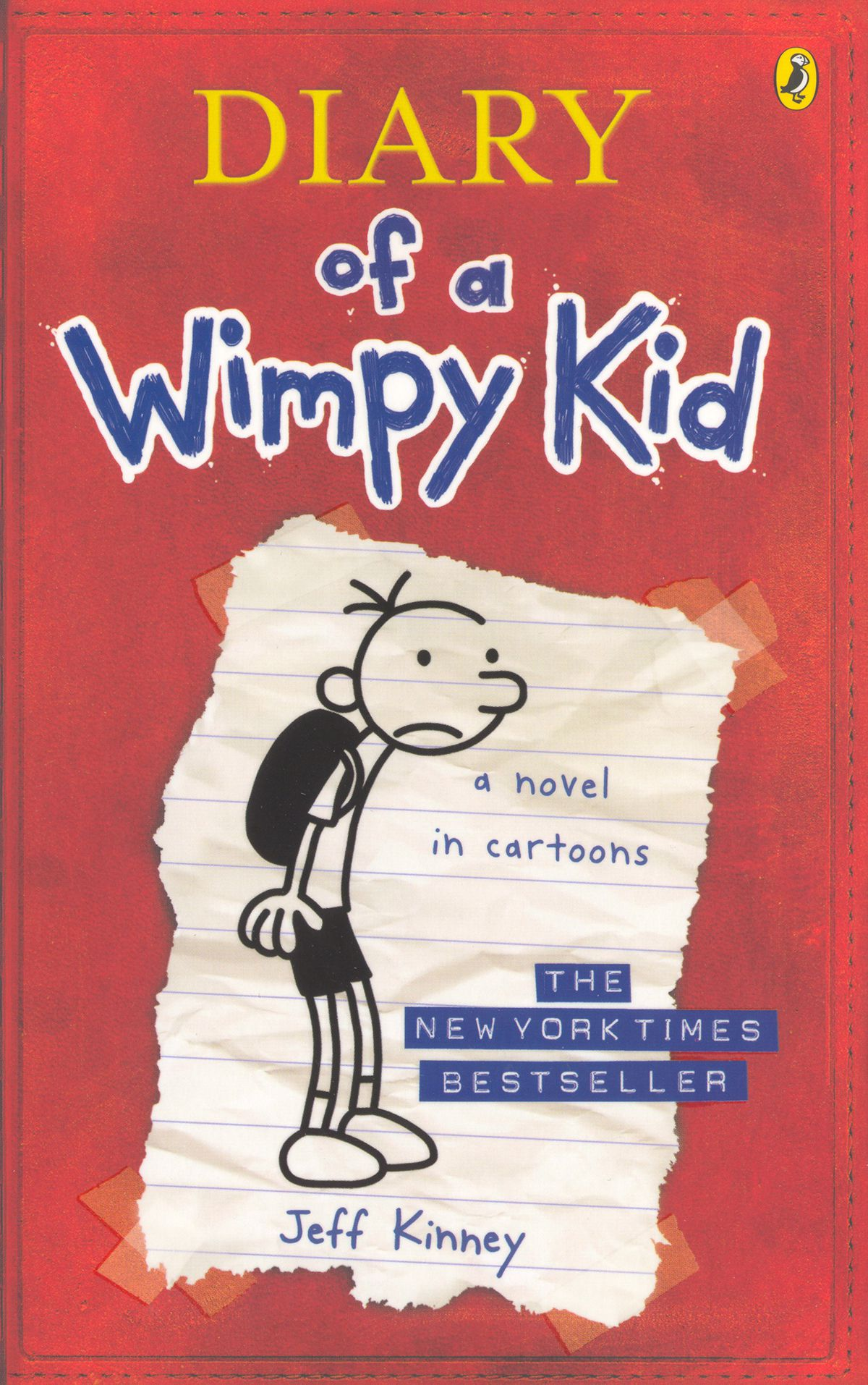 The cover of Diary of a Wimpy Kid