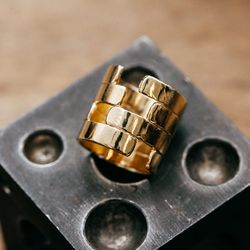 """Bending Ring, <a href=""""http://www.psyche-jewelry.com/product/bending-ring"""">$88</a>"""