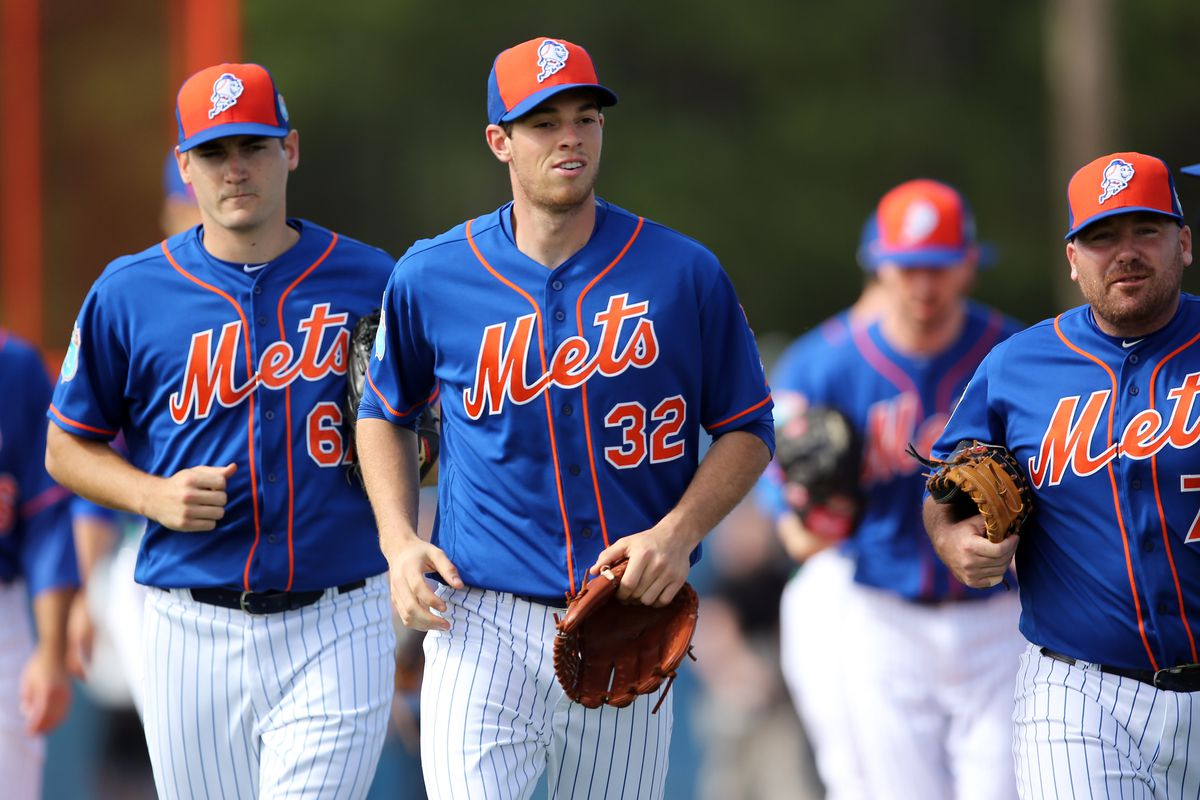 Matz leads other Mets pitchers spring training drills
