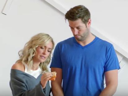 "Kristin Cavallari and Jay Cutler in a promo for ""Very Cavallari."" | E! Entertainment"