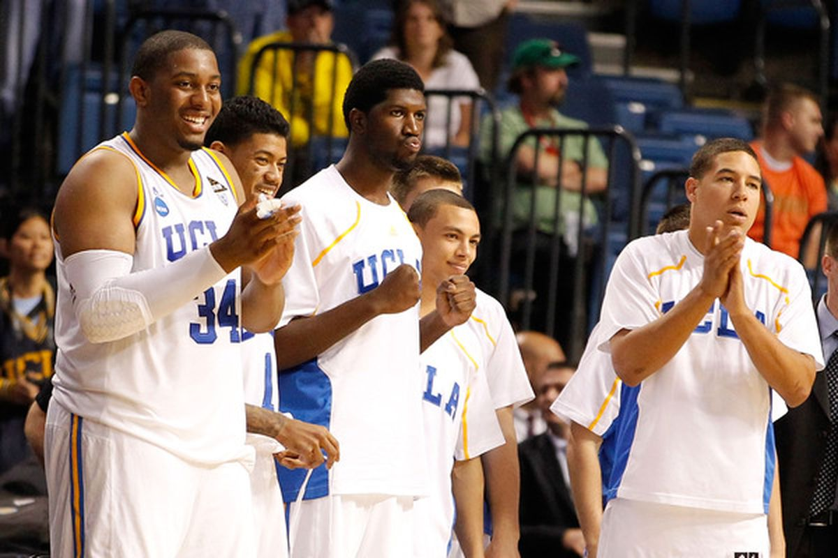 """Joshua Smith on UCLA's upcoming 2011-12 season, """"I feel like if we don't win (conference), it's a let-down"""" .  (Photo by J. Meric/Getty Images)"""
