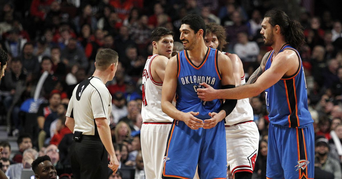 steven adams doesn u2019t want to hang out with enes kanter