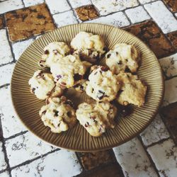 I make almond-flour coconut cranberry cookies and call it a week.