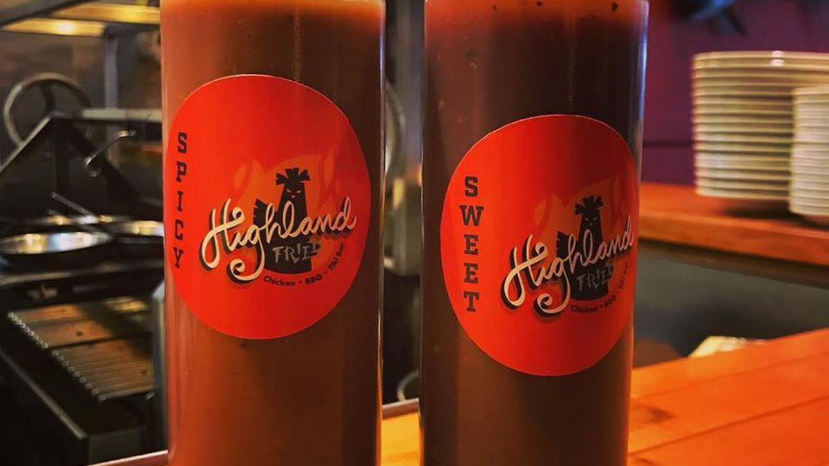 Highland Fried sauces