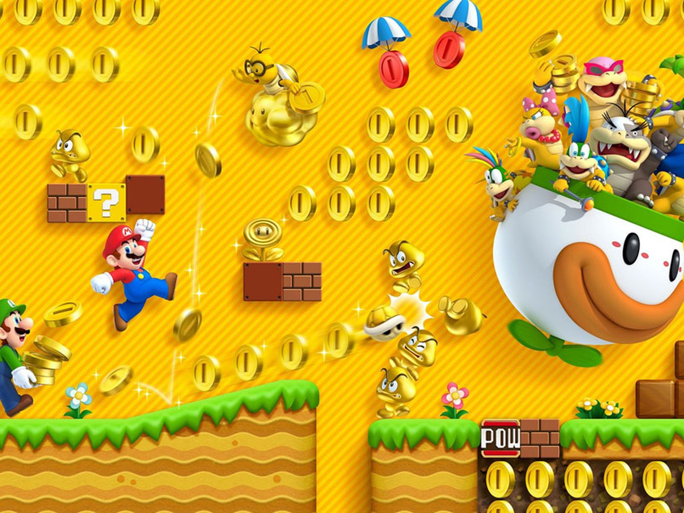 New Super Mario Bros 2 Getting Three Downloadable Add On Packs