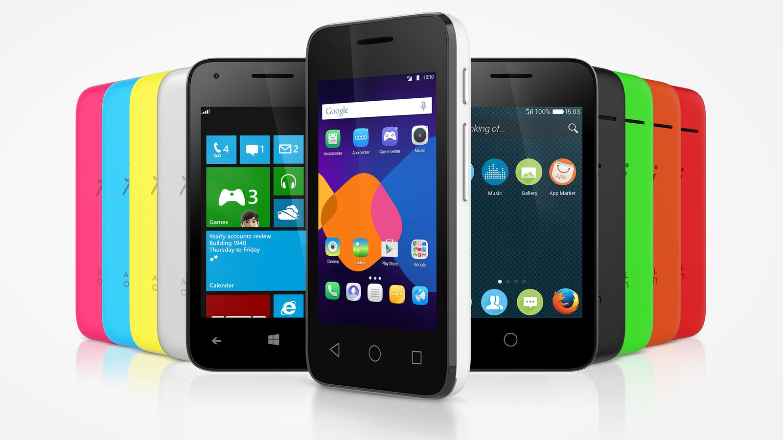Alcatel Has Three New Phones with Firefox OS