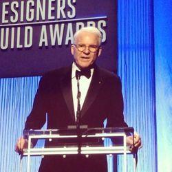 Steve Martin hilariously introduced Distinguished Collaborator Award winner, SNL's Lorne Michaels.
