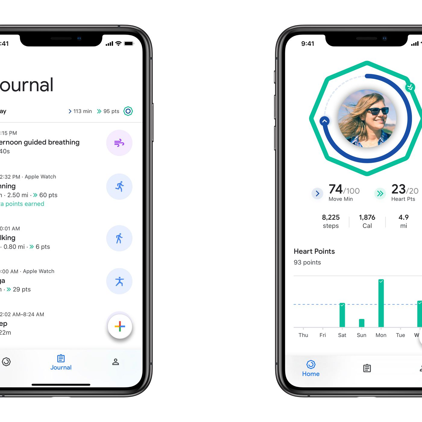 theverge.com - Jon Porter - Google brings its redesigned fitness app to iOS