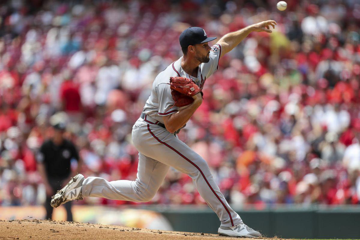 MLB: Atlanta Braves at Cincinnati Reds