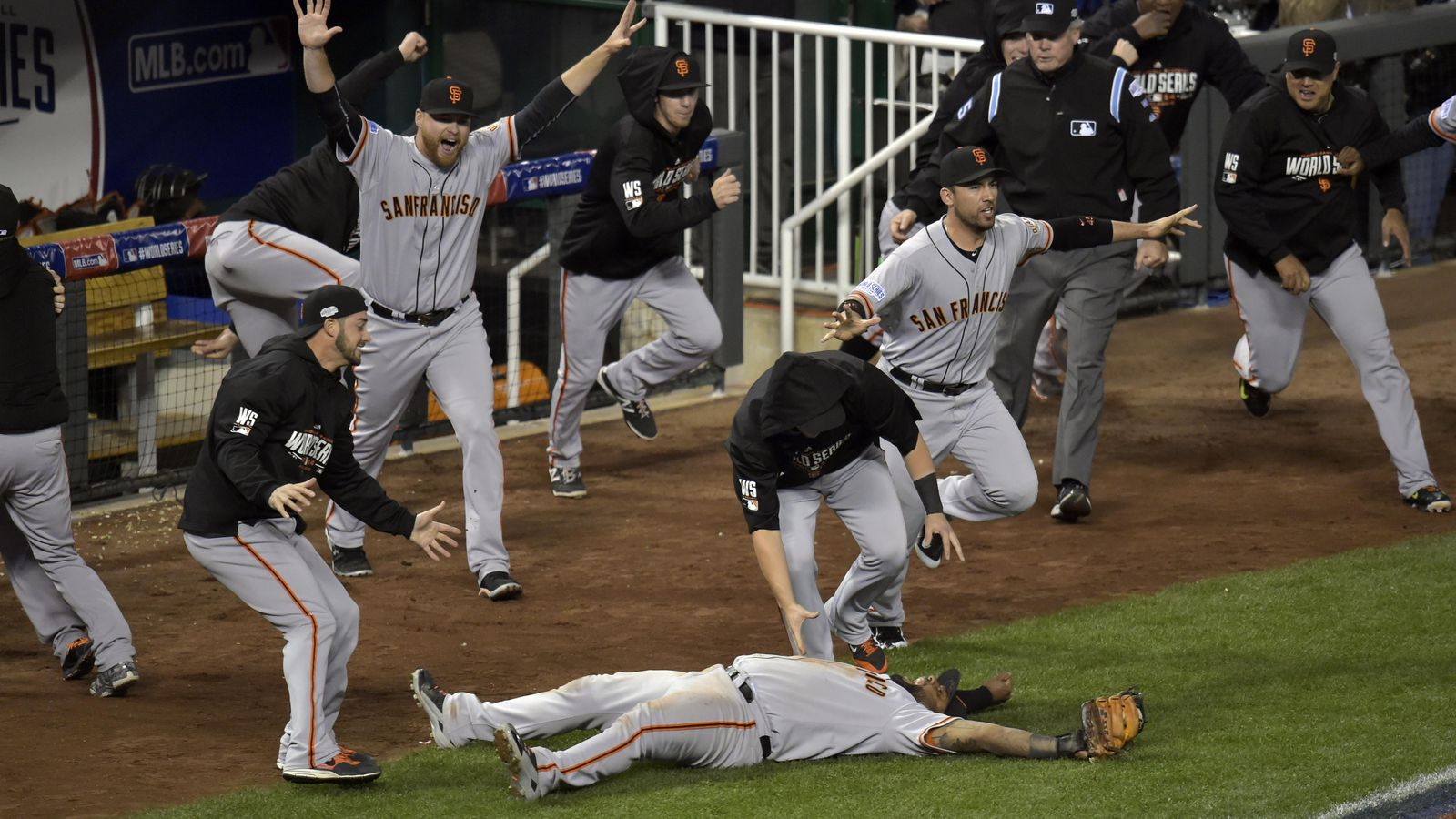 Watch the last out of the 2014 World Series with our friends at Finnerty's