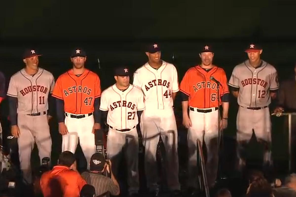 425f50055bf Houston Astros reveal new logo, uniform - SBNation.com