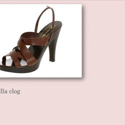 Stella clog, $395.