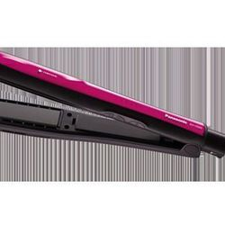 Panasonic's Nanoe Flat Iron helps strengthen hair and protect it from damage by using moisture-rich particles that are small enough to penetrate the shafts of your hair.
