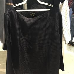 A.P.C. blouse, $150 (from $280)