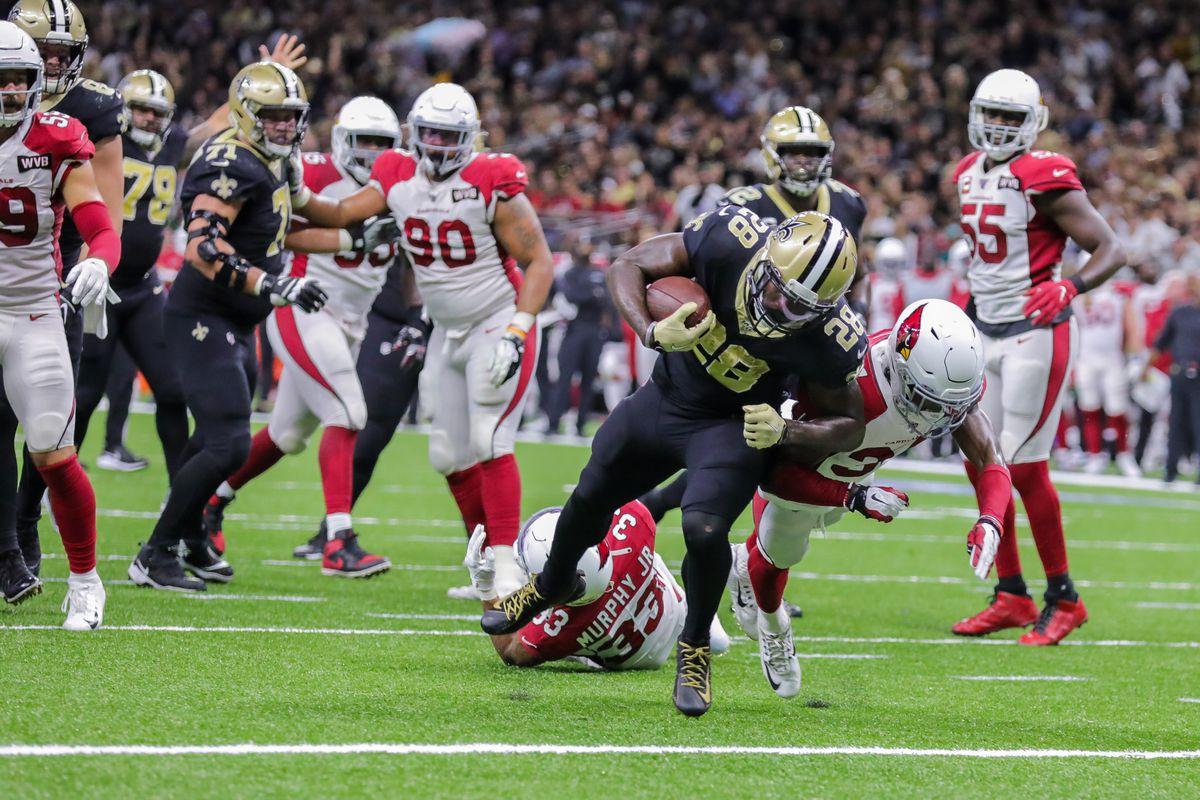 NFL: OCT 27 Cardinals at Saints