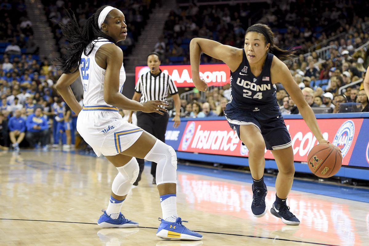NCAA Womens Basketball: Connecticut at UCLA
