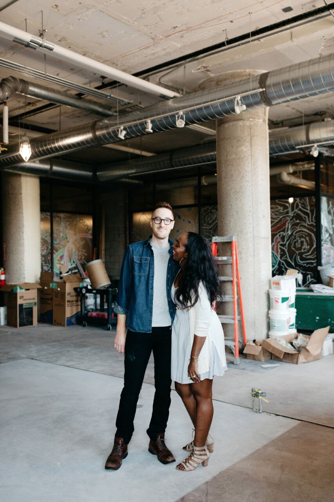 Owners Chris Wilkins and Nicole Lewis