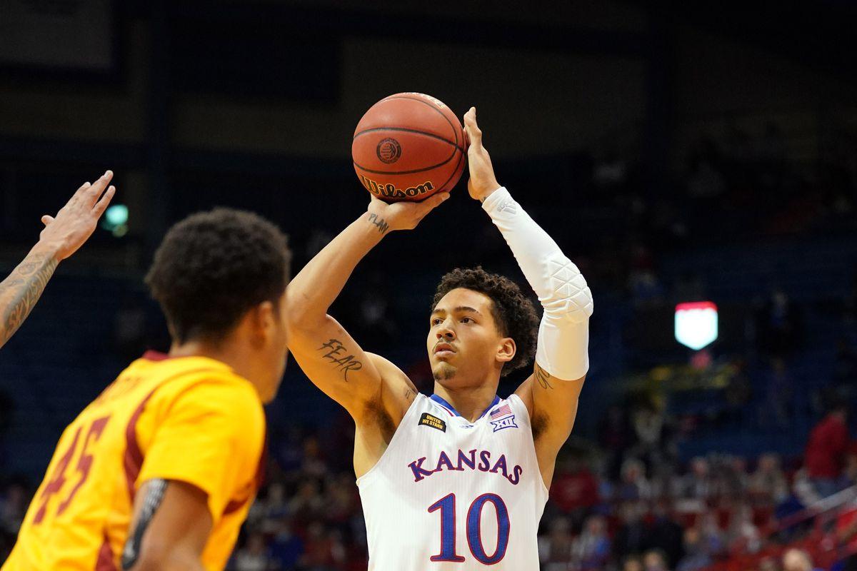 NCAA Basketball: Iowa State at Kansas