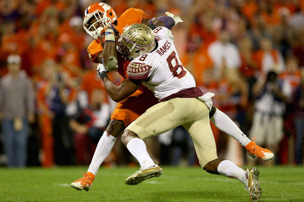 For FSU, Jalen Ramsey tries to tackle Clemson's Wayne Gallman
