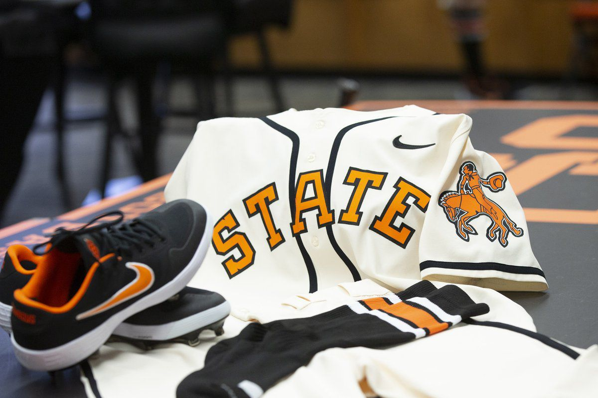 sale retailer 34af5 21735 Oklahoma State baseball to wear retro uniforms in 2019 ...