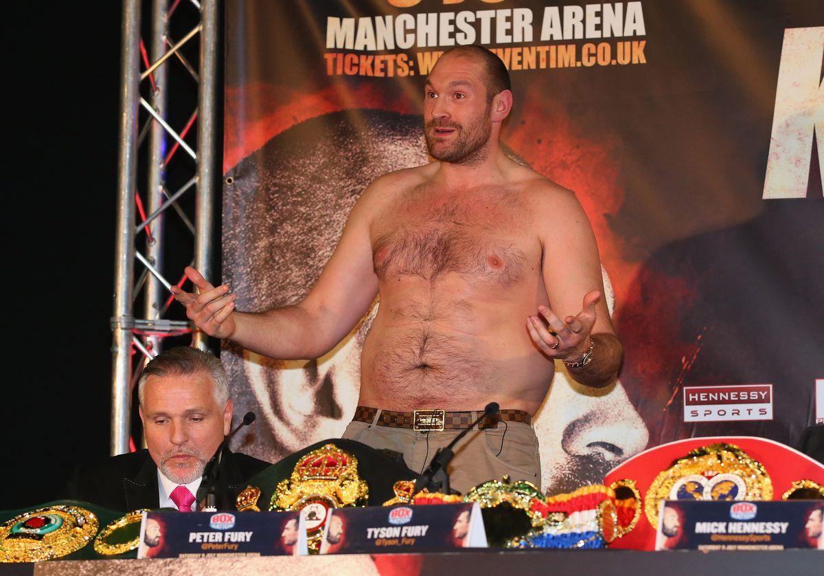Tyson Fury & Wladimir Klitschko Head to Head Press Conference
