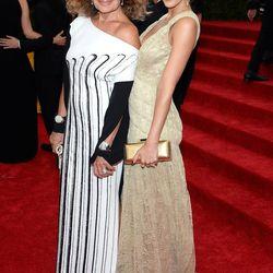 Diane von Furstenberg and Jessica Alba