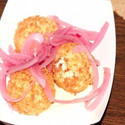 The mashed potato balls