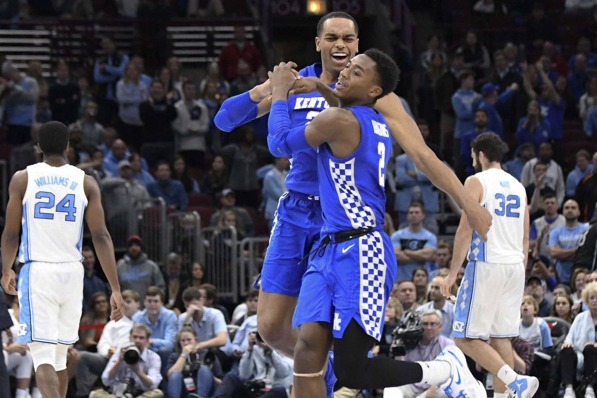 3550c137a1bc UK Basketball  Twitter reactions to Wildcats  great win over UNC Tar ...