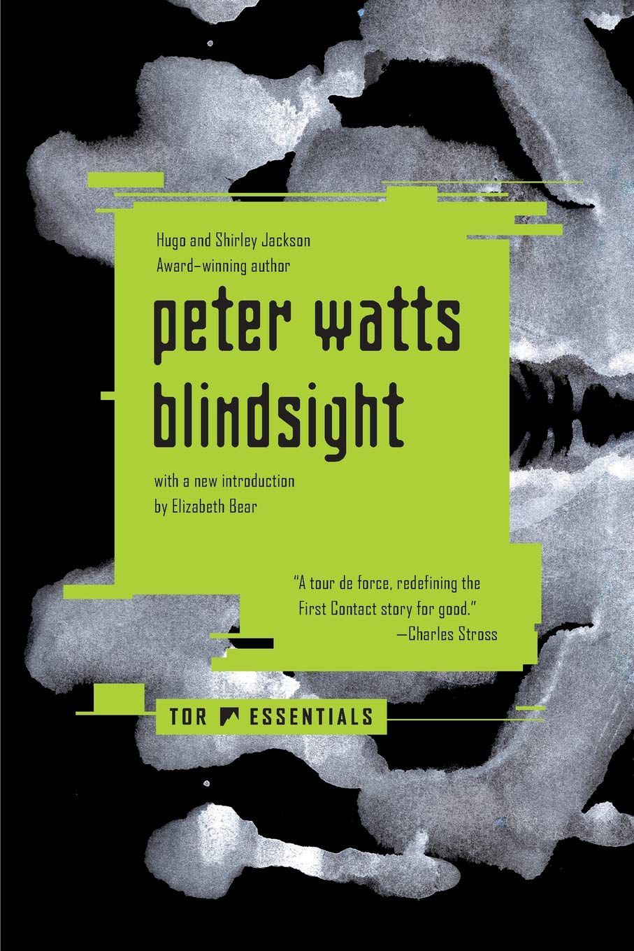 Blindsight by Peter Watts  cover