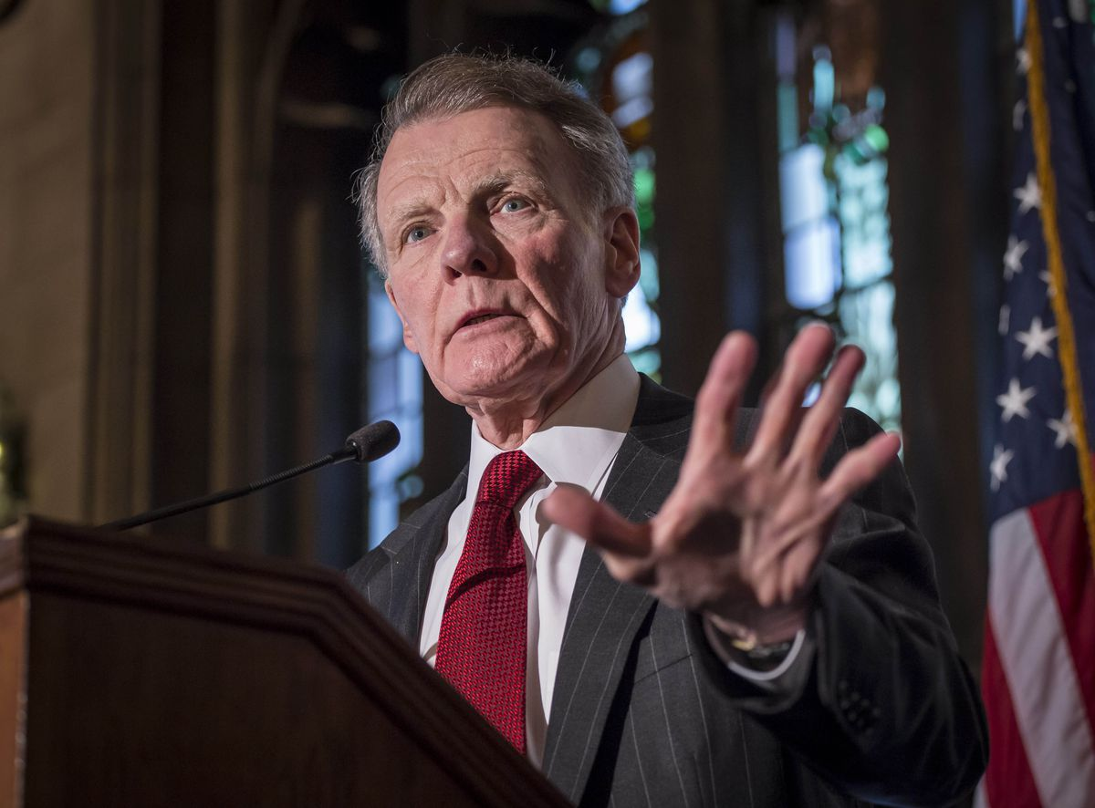 Illinois House Speaker Mike Madigan at the University Club of Chicago in 2015.